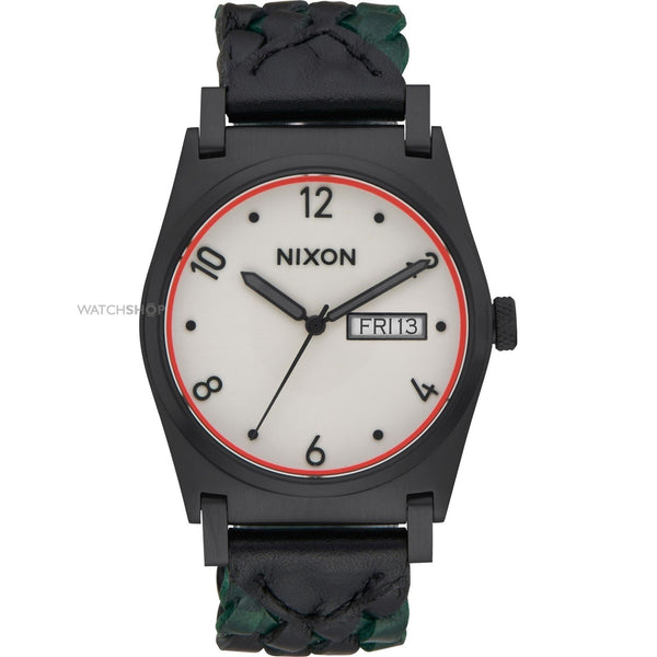 Nixon Women's A955-2357 'Jane' Green Leather Watch