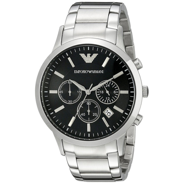 Emporio Armani Men's AR2434 'Classic' Chronograph Stainless Steel Watch