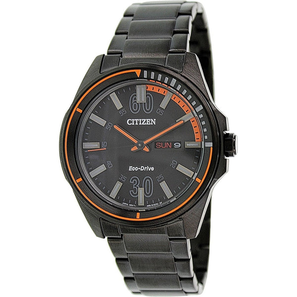 Citizen Men's AW0035-51E Black Stainless Steel Watch