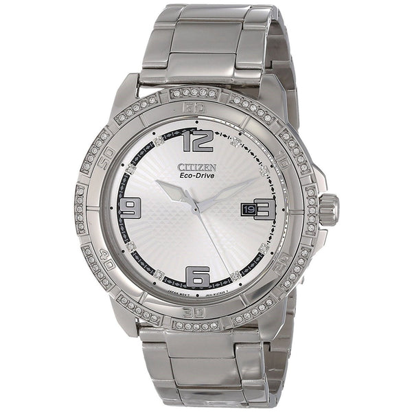 Citizen Men's AW1340-52A 'Eco-Drive' Stainless Steel Watch