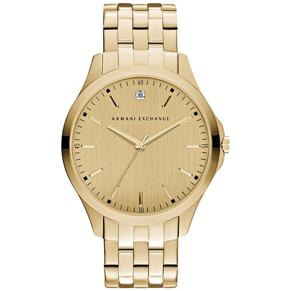 Armani Exchange Men's AX2167 Gold-Tone Stainless Steel Watch