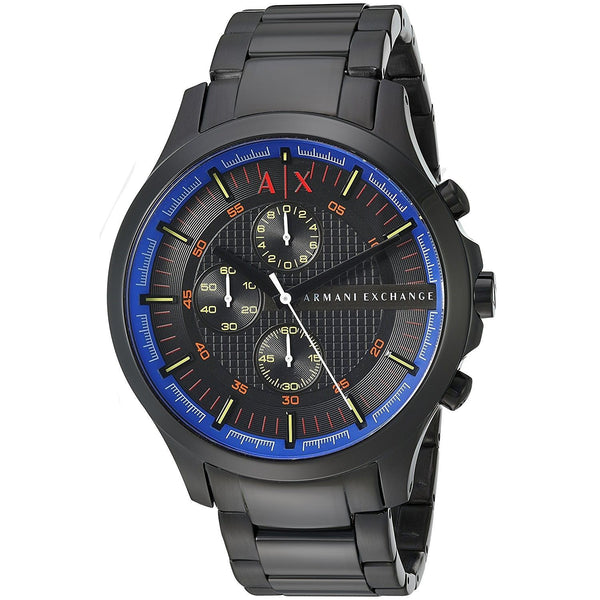 Armani Exchange Men's AX2191 'Smart' Chronograph Black Stainless Steel Watch