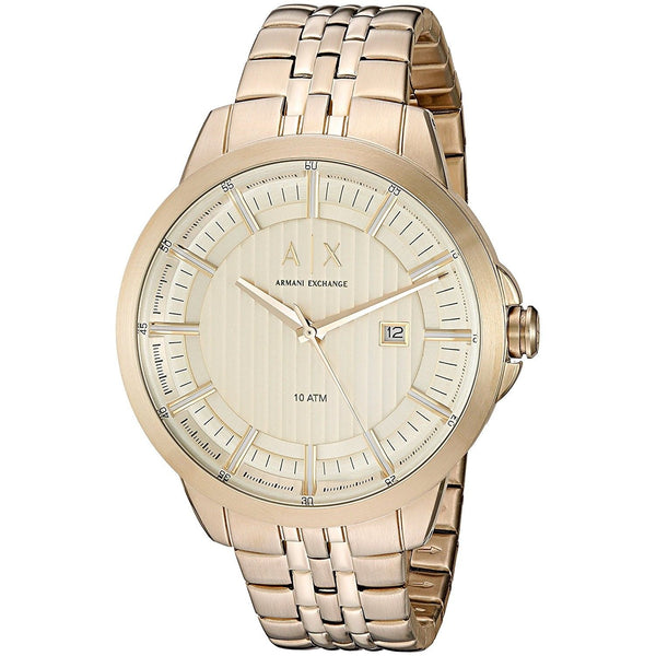 Armani Exchange Men's AX2267 'Copeland' Gold-Tone Stainless Steel Watch