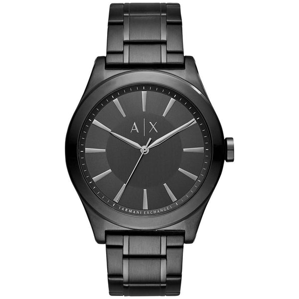 Armani Exchange Men's AX2326 'Nico' Black Stainless Steel Watch