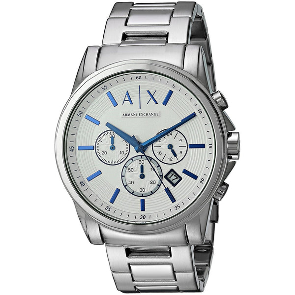 Armani Exchange Men's AX2510 'Smart' Chronograph Stainless Steel Watch
