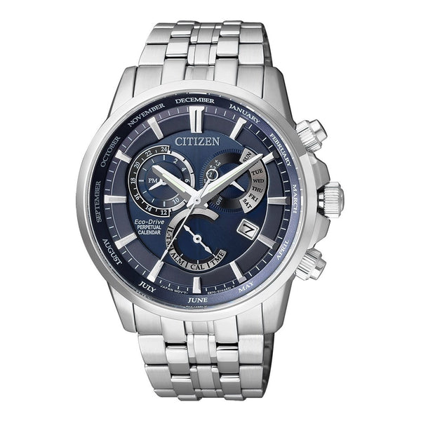 Citizen Men's BL8140-80L 'Eco-Drive' Stainless Steel Watch