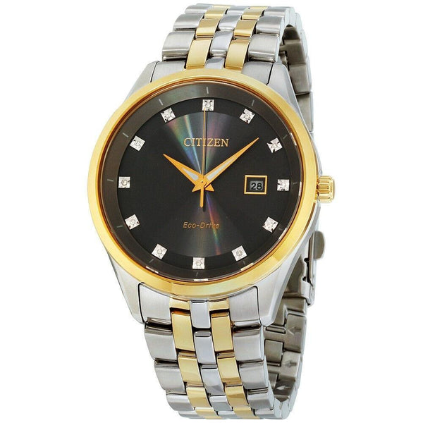 Citizen Men's BM7258-54H 'Corso' Two-Tone Stainless Steel Watch