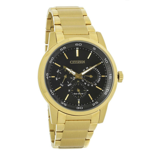 Citizen Men's BU2012-51E 'Eco-Drive' Gold-Tone Stainless Steel Watch