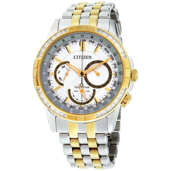 Citizen Men's BU2084-51A 'Calendrier' Two-Tone Stainless Steel Watch