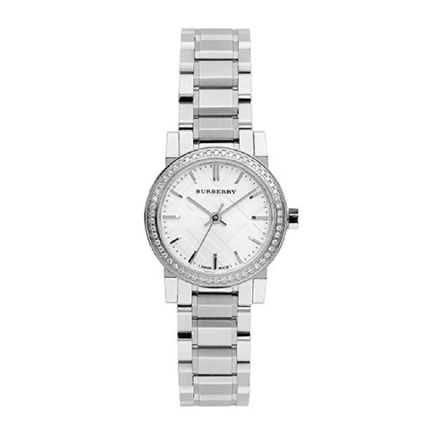 Burberry Women's BU9220 'The City' Diamond Stainless Steel Watch