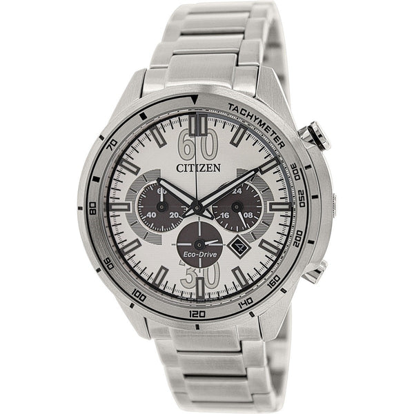 Citizen Men's CA4120-50A 'Eco-Drive' Chronograph Stainless Steel Watch
