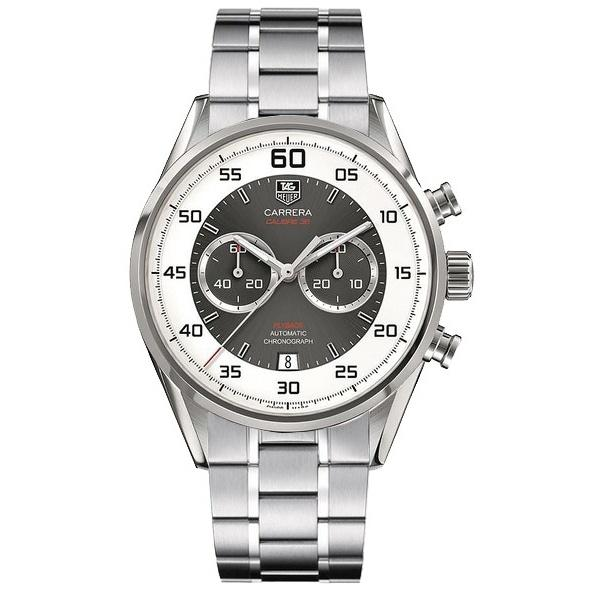 Tag Heuer Men's CAR2B11.BA0796 'Carrera ' Chronograph Stainless Steel Watch