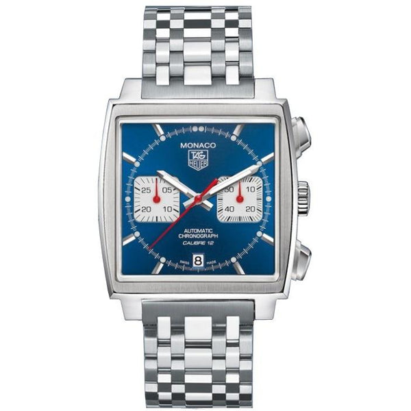 Tag Heuer Men's CAW2111.BA0780 'Monaco' Chronograph Stainless Steel Watch