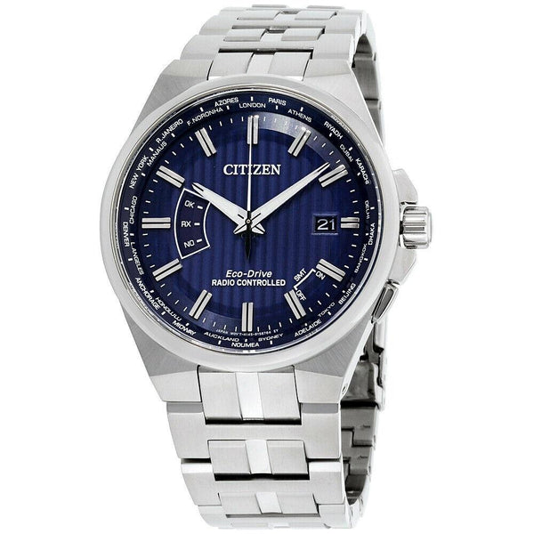 Citizen Men's CB0160-51L 'World Perpetual A-T' Stainless Steel Watch