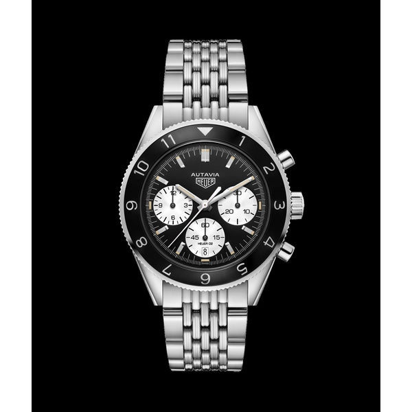 Tag Heuer Men's CBE2110.BA0687 'Heritage' Chronograph Stainless Steel Watch
