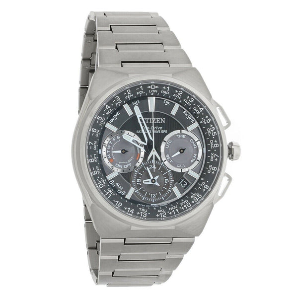 Citizen Men's CC9008-50E 'Satellite Wave F900 GPS' Stainless Steel Watch