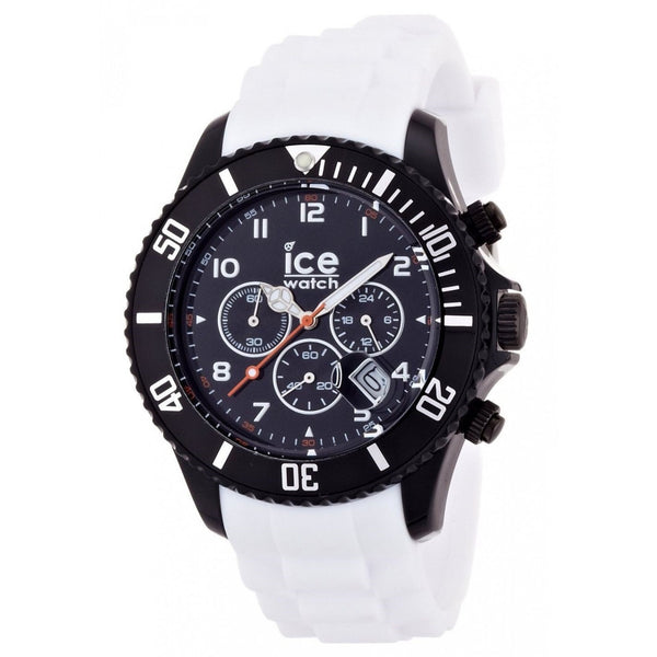 Ice Watch Men's CHBWBS10 Chronograph White Rubber Watch