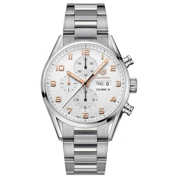 Tag Heuer Men's CV2A1AC.BA0738 'Carrera Limited Edition' Chronograph Automatic Stainless Steel Watch
