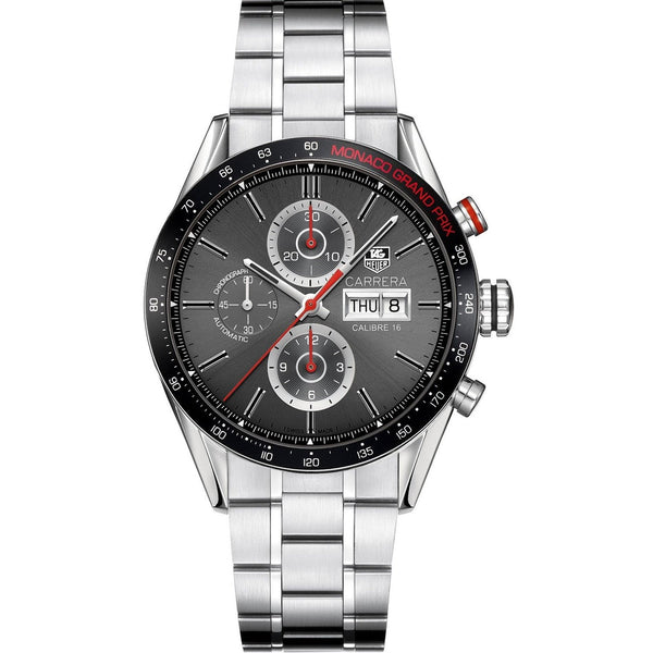 Tag Heuer Men's CV2A1M.BA0796 'Carrera' Chronograph Stainless Steel Watch