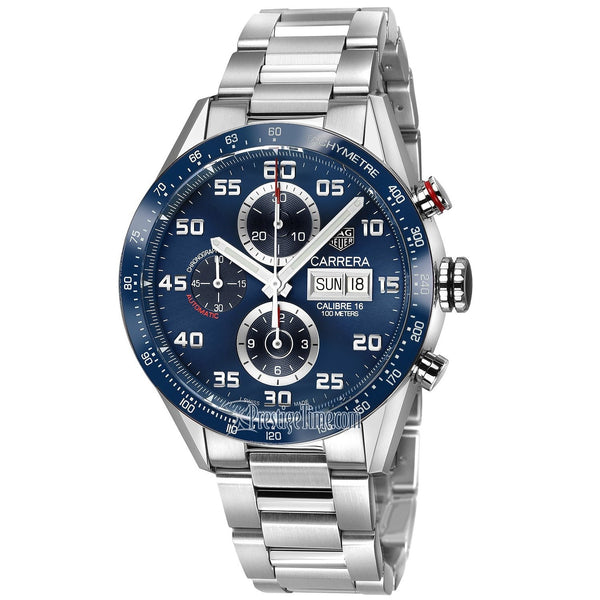 Tag Heuer Men's CV2A1V.BA0738 'Carrera' Chronograph Stainless Steel Watch