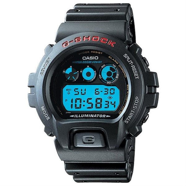 Casio Men's DW-6900-1V 'Classic' Digital Black Rubber Watch