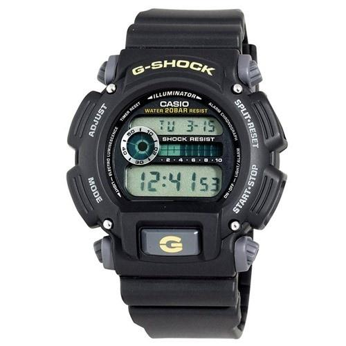 Casio Men's DW-9052-1B 'Classic' Digital Black Rubber Watch