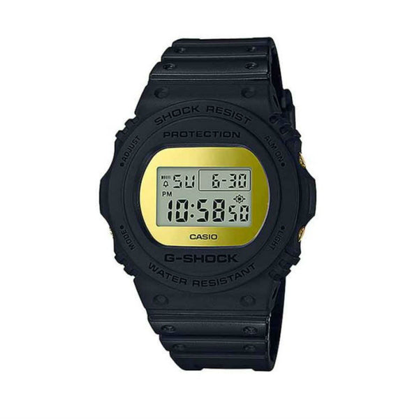Casio Men's DW5700BBMB-1 'G-Shock' Black Resin Watch