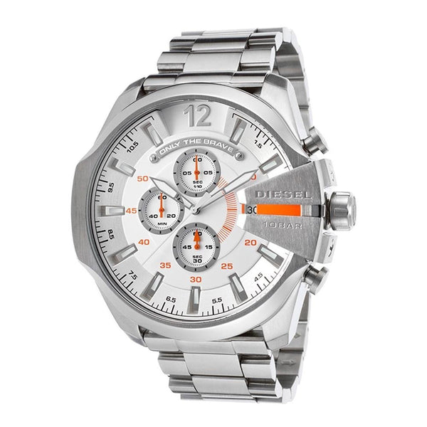 Diesel Men's DZ4328 'Mega Chief' Chronograph Stainless Steel Watch