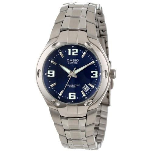 Casio Men's EF-106D-2AV 'Classic' Stainless Steel Watch