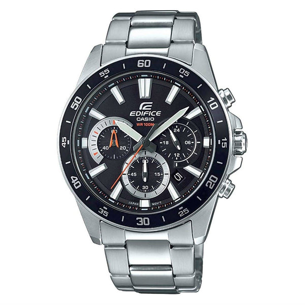 Casio Men's EFV570D-1A 'Edifice' Chronograph Stainless Steel Watch