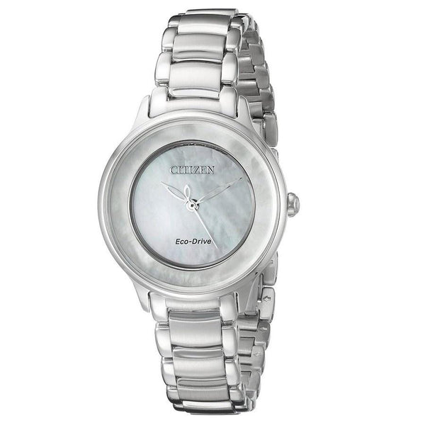 Citizen Women's EM0380-81D 'Circle of Time' Stainless Steel Watch