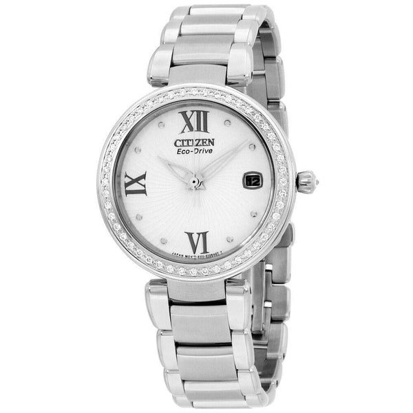 Citizen Women's EO1100-57A 'Marne Signature' Stainless Steel Watch