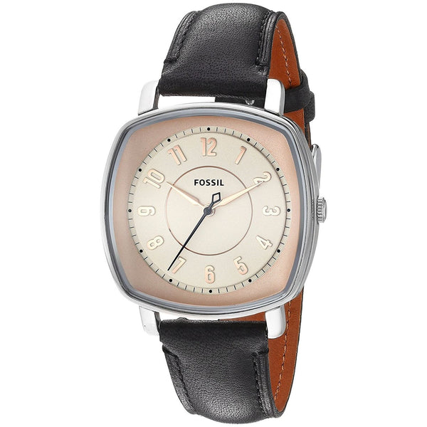 Fossil Women's ES3998 'Idealist' Black Leather Watch