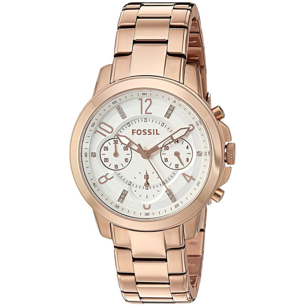Fossil Women's ES4035 'Gwynn' Chronograph Rose-Tone Stainless Steel Watch