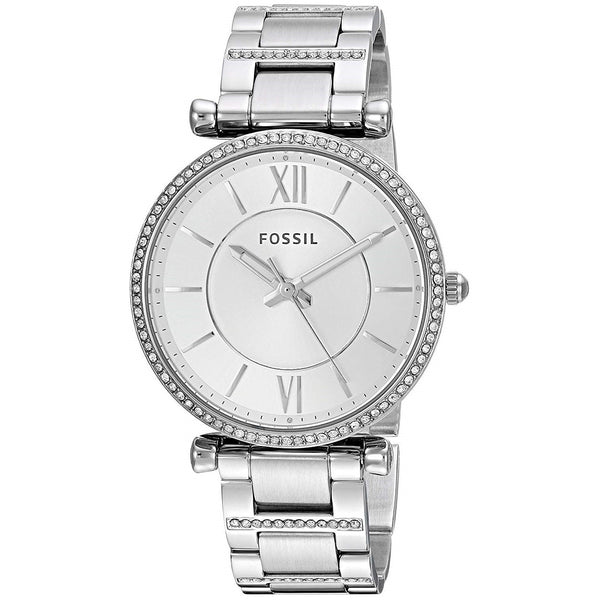 Fossil Women's ES4341 'Carlie' Stainless Steel Watch