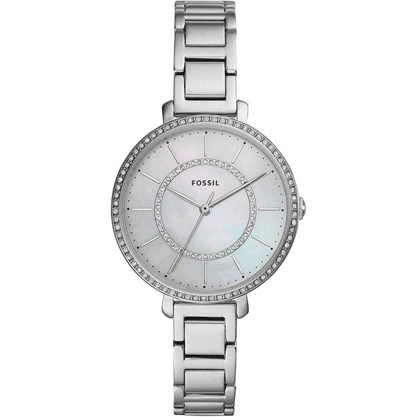 Fossil Women's ES4451 'Jocelyn' Crystal Set Stainless Steel Watch