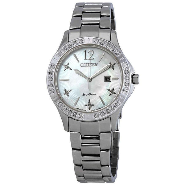 Citizen Women's EW2510-50D 'Elektra' Stainless Steel Watch