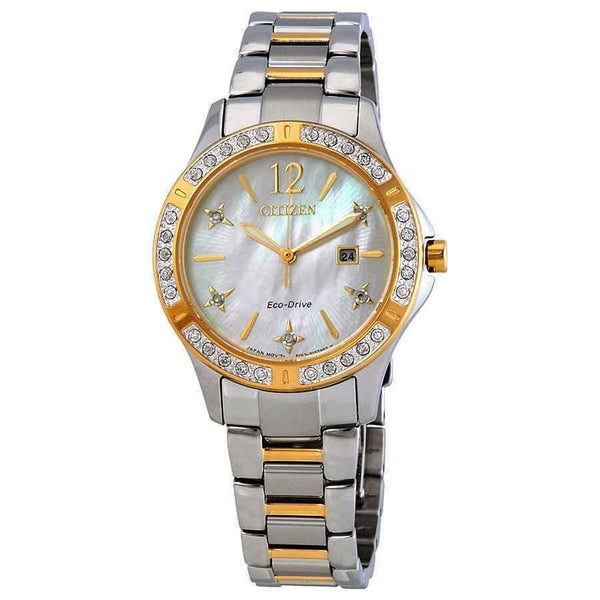 Citizen Women's EW2514-59D 'Elektra' Two-Tone Stainless Steel Watch
