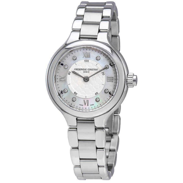 Frederique Constant Women's FC-281WHD3ER6B 'Horological Smartwatch' Stainless Steel Watch