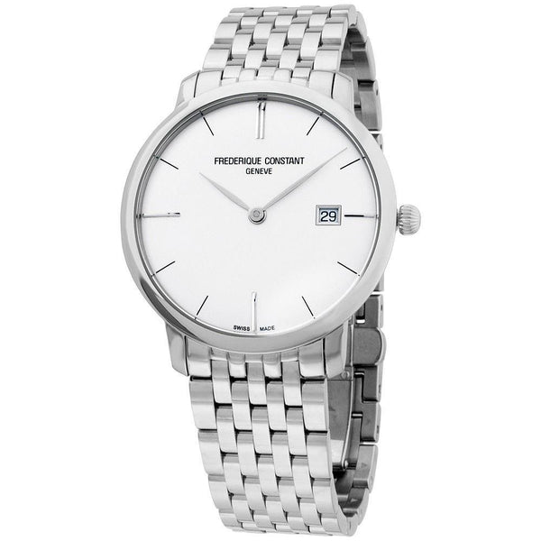 Frederique Constant Men's FC-306S4S6B2 'Slimline' Stainless Steel Watch