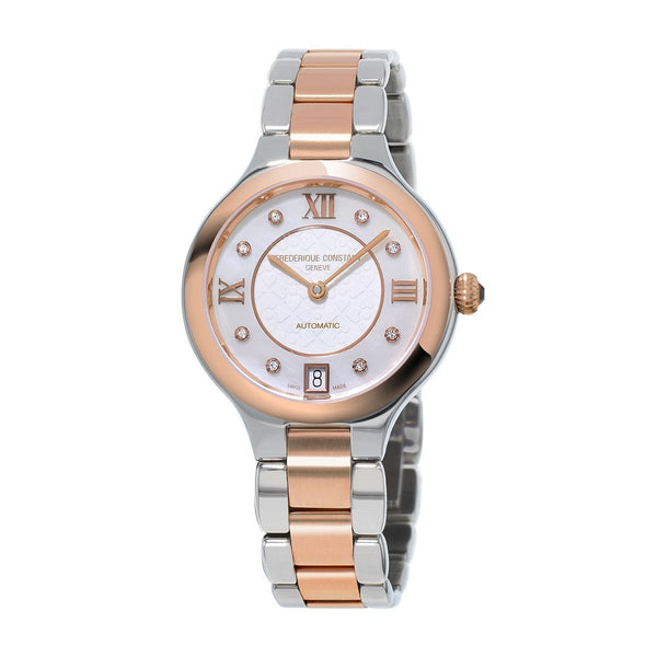 Frederique Constant Women's FC-306WHD3ER2B 'Classics Delight' Two-Tone Stainless Steel Watch