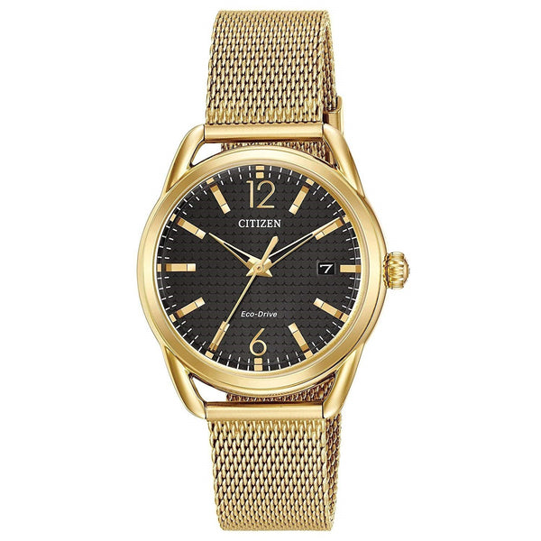 Citizen Women's FE6082-59E 'Drive' Gold-Tone Stainless Steel Watch