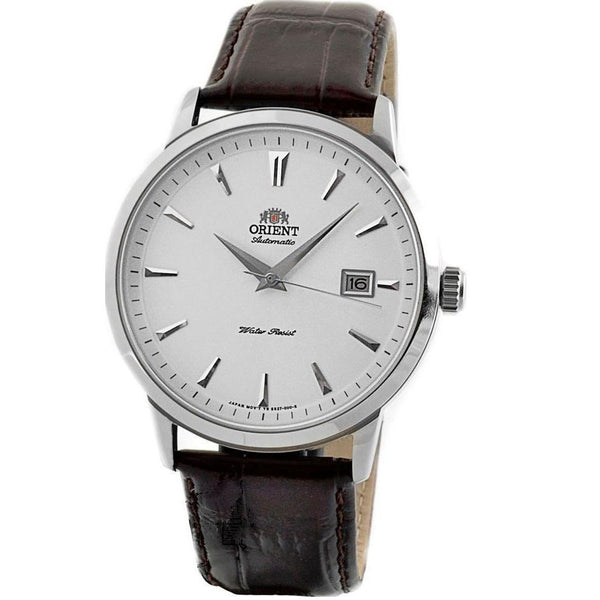 Orient Men's FER27007W0 'Symphony' Automatic Brown Leather Watch