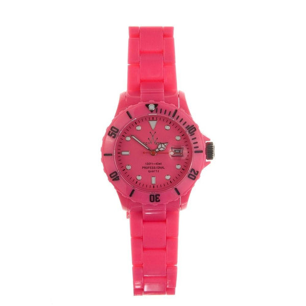 Toy Watch Women's FL04PS Pink Plastic Watch