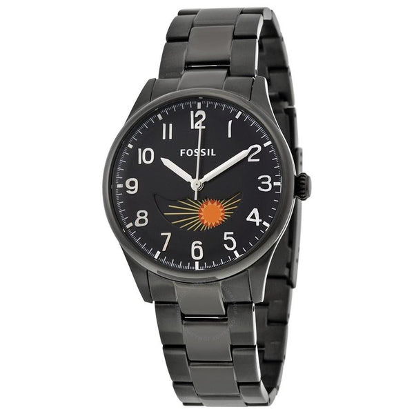 Fossil Men's FS4849 'Agent' Black Stainless Steel Watch