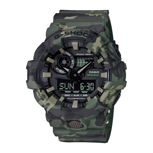 Casio Men's GA700CM-3A 'G-Shock' Camouflage Resin Watch