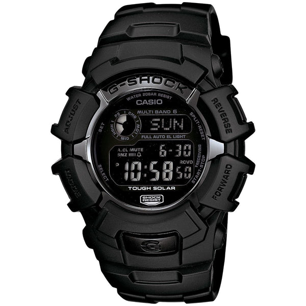 Casio Men's GW2310FB-1 'G-Shock Atomic' Digital Black Resin Watch