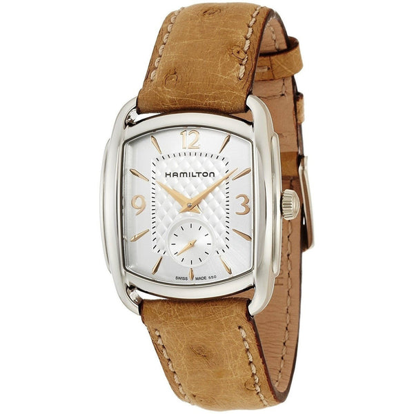 Hamilton Unisex H12451855 'Bagley' Brown Leather Watch