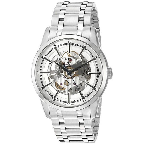 Hamilton Men's H40655151 'Railroad' Stainless Steel Watch