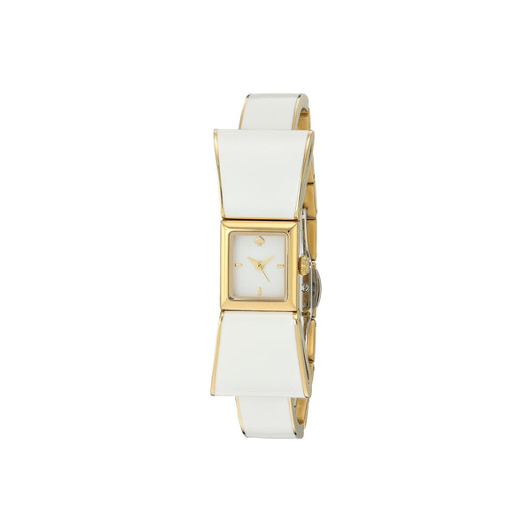 Kate Spade Women's KSW1111 'Kenmare' White Stainless steel and Leather Watch